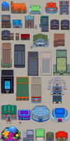 BW BUILDINGS TILESET