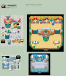 Indoor Tileset PC and Mart Pokemon Forever Lost