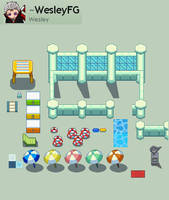Let's Surf in Water Pokemon Gym PUBLIC by WesleyFG