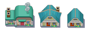 NEW BARK TOWN TILESET