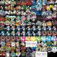 All Alola Pokemon Artwork Original
