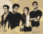 Teen Wolf Sketch