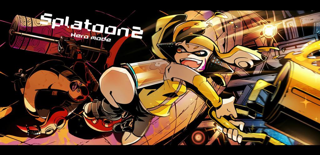 splatoon2 heromode by keijo2