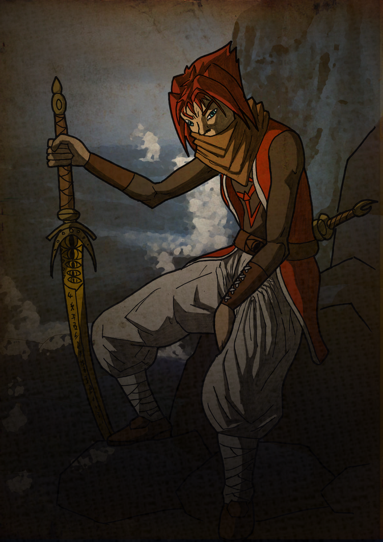 The Red Warrior. by Tattorack