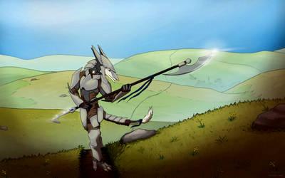 (commission) Sergal Prowler