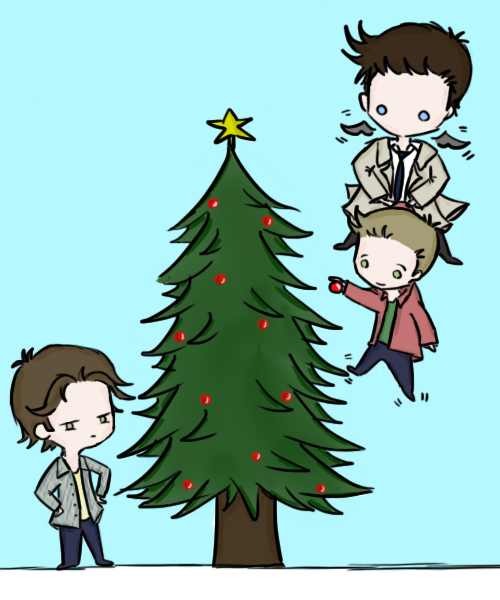 A Very Supernatural Christmas by musicalirony
