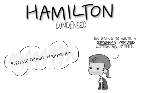 Hamilton: Condensed by musicalirony