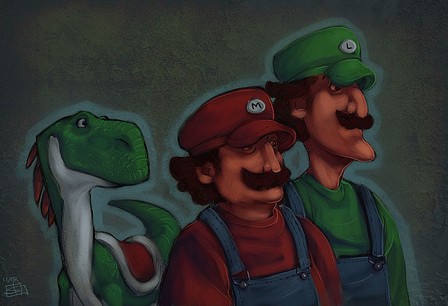 Super Mario Bros. by Merystic