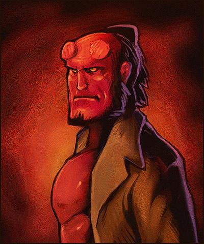 Hellboy 2 by Merystic