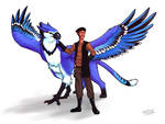 Draeg and Blue-Jay Gryphon