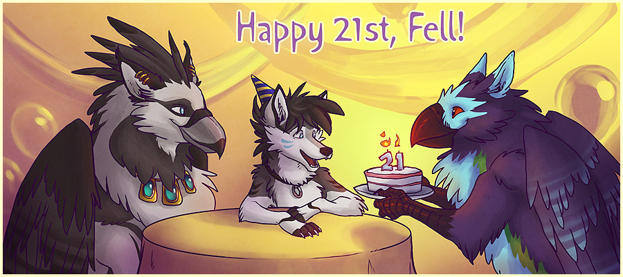 Happy 21st, Fell by Merystic