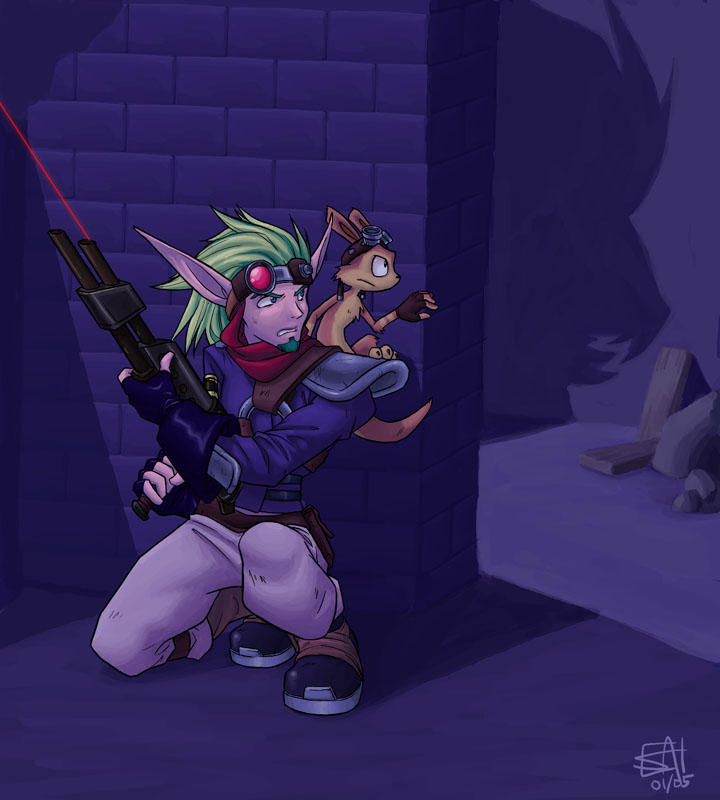 Jak And Daxter By Merystic On DeviantArt