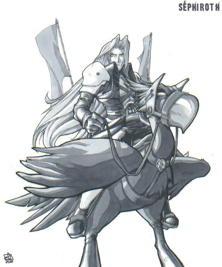 Sephiroth's Dark Ride by Merystic