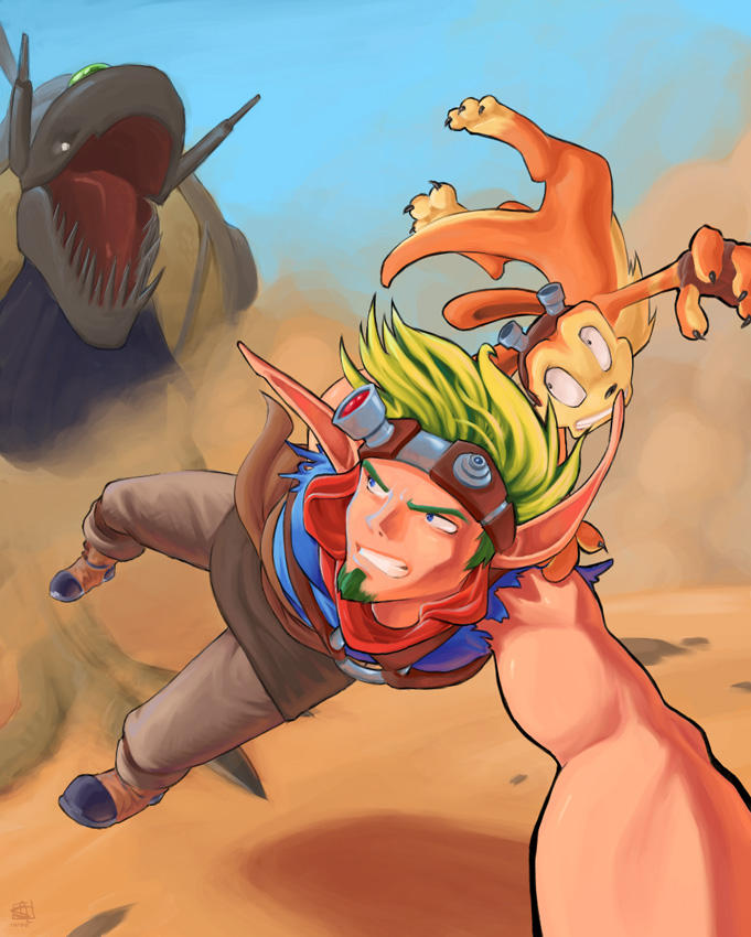 Jak and Daxter:  Jak 3 by Merystic