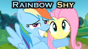 Rainbow Shy Hugging