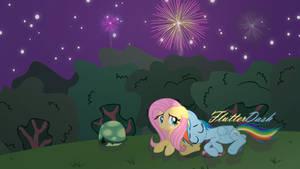 Flutter Dash -- Fireworks ||REQUEST||