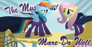 Flutter Dash -- The Mysterious Mare Do Well! |REQ|