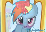 Flutter Dash -- Pretty Rainbow   REQUEST  