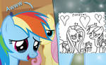 Flutter Dash -- Daawing Moment  REQUEST  