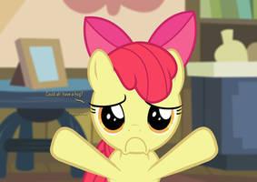 [HUGS] Apple Bloom -- Could ah' please have a hug? by ShutterflyEQD