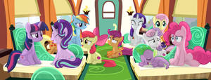 Next Stop... The Little Fillies Room