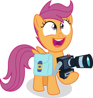 Super Excited Scootaloo by ShutterflyEQD