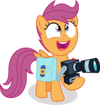 Super Excited Scootaloo