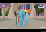 MLP Movie (2017) -- Rainbow Dash !