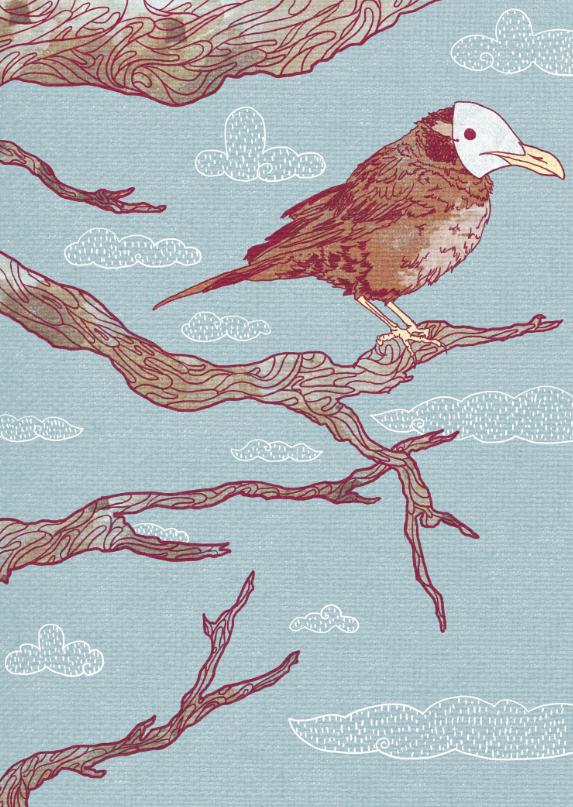 Bird by nibletchan