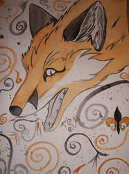 gold foxx by tabithamack