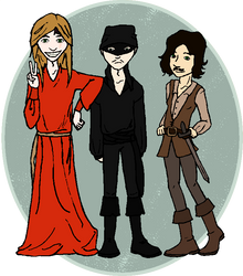 Halloween Costumes by axalendra