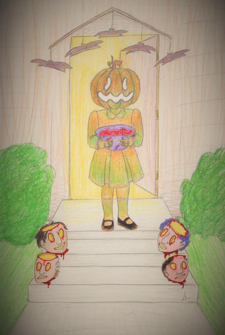 Happy Halloween by axalendra