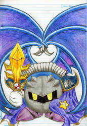 Meta Knight 4-EVER by TsukiGalaxy