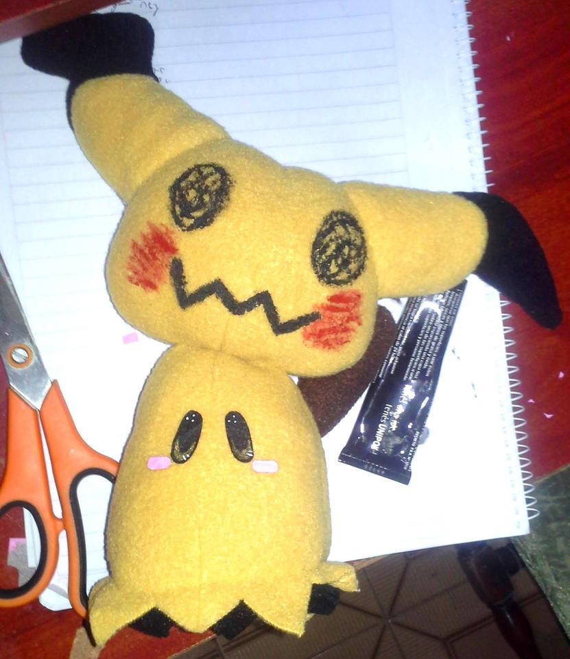 Mimikyu Plushie by TsukiGalaxy