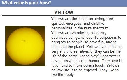 Facebook quiz-what color aura by AnimeEmm on DeviantArt