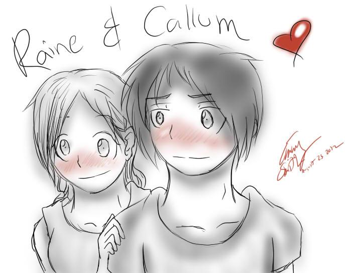 AT- Callum and Raine by AnimeEmm