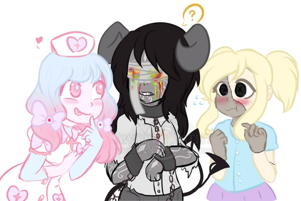 Doodle Arts: ~Little Misfits~ by AnimeEmm