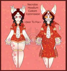 CS Necrobie Art - Hoodlum Custom: Yumiko by AnimeEmm