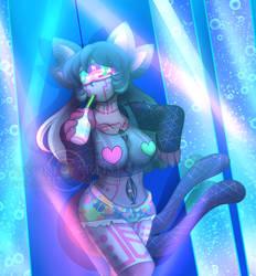 Necrobie Art: Rave Queen Kiara