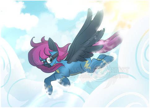 MLP Commission - Flight through the Clouds