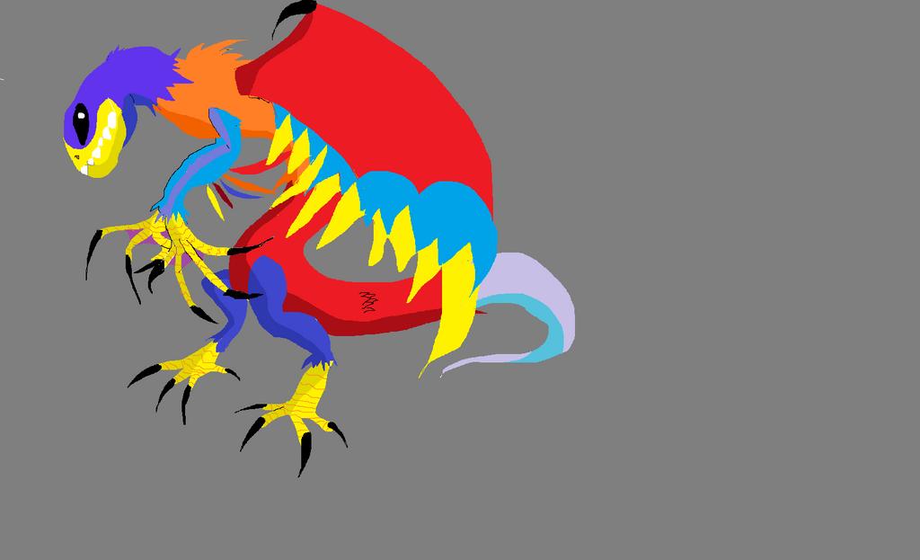 A Big @$$ Bird by thepatrolman