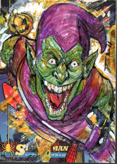 "Green Goblin ""Go-over"" Spidey by DJLogan"