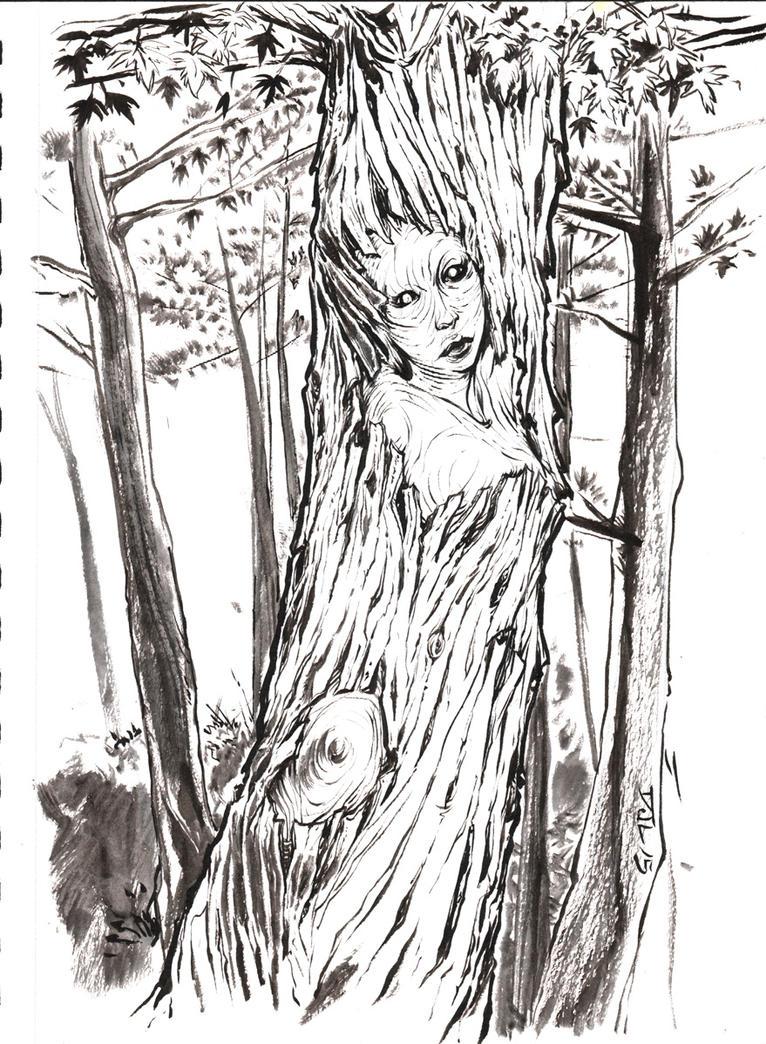 Wood Spirit by DJLogan