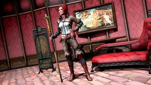 Triss Merigold 2 by Rescraft