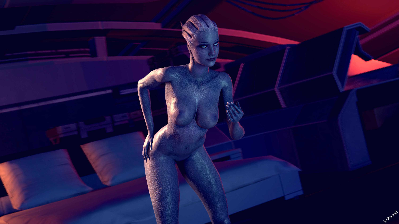 mass effect art nude