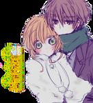 Sakura y Shaoran-Render