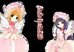 Sakura y Tomoyo-Render