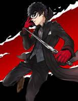 persona 5 - Joker by Catonatr