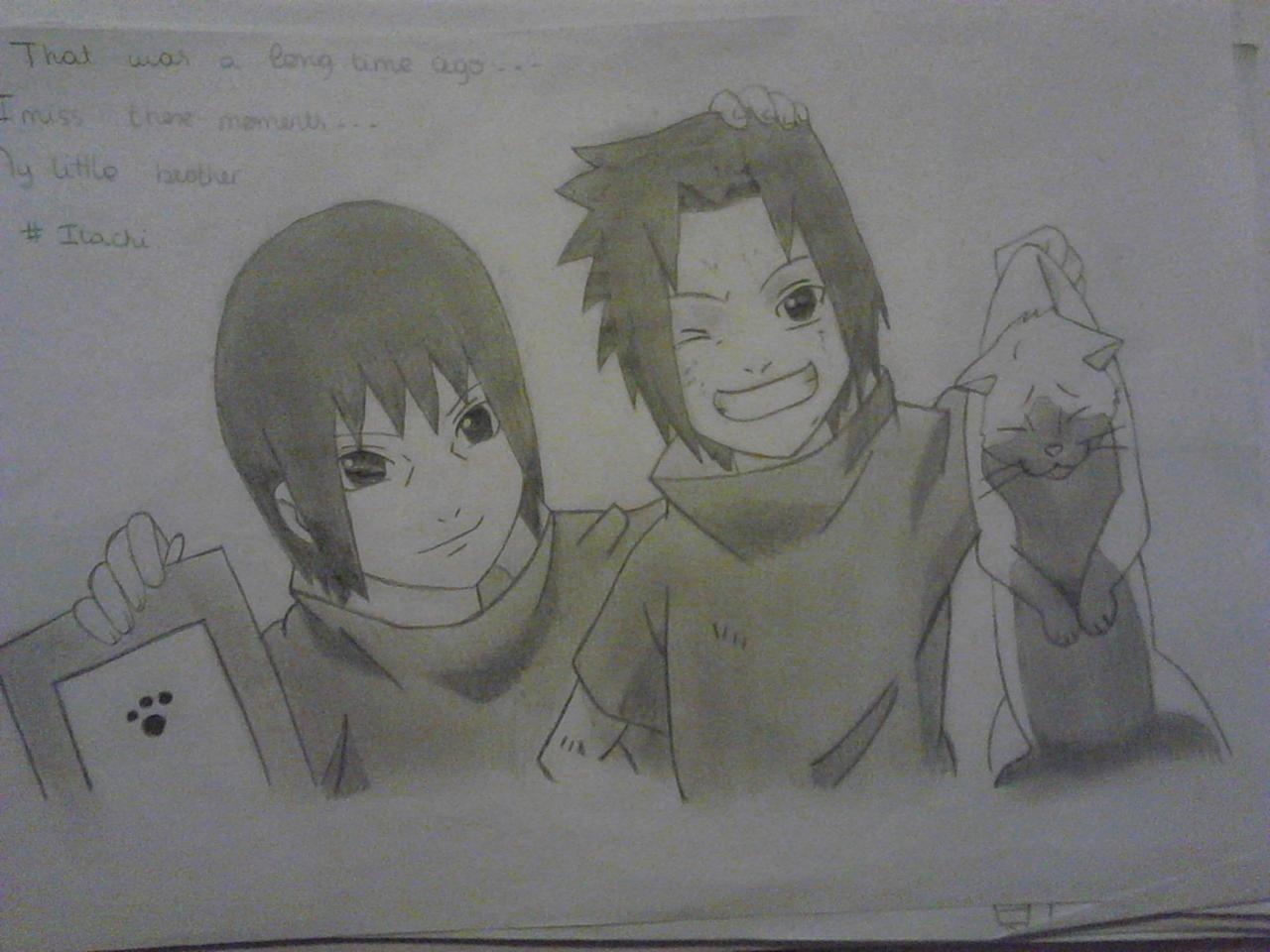 Itachi et Sasuke by Chloe118837