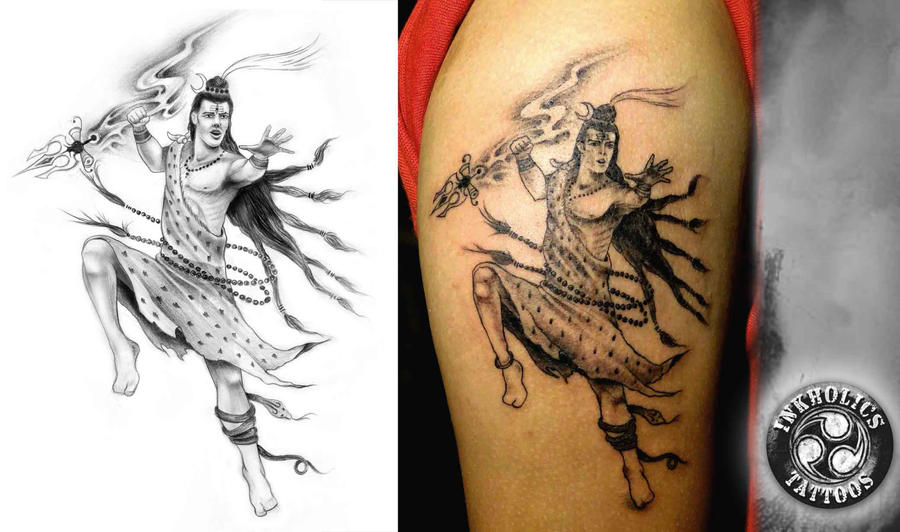 The mighty shiva by ketology on deviantart for Har har mahadev tattoo